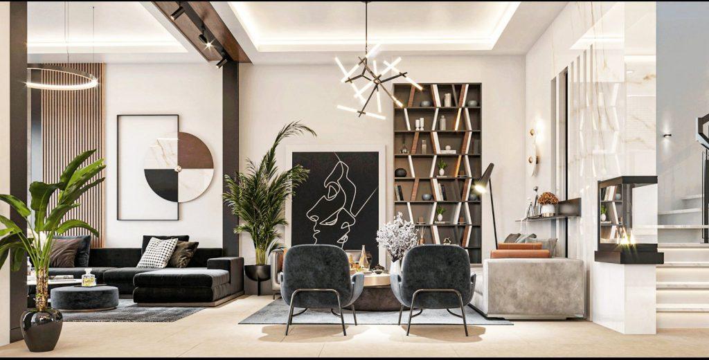 Dịch vụ thiết kế nội thất nhà phố