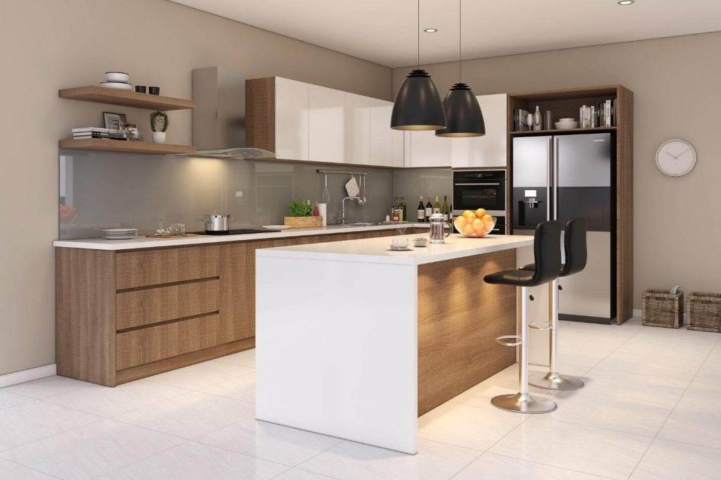 Thiết kế bếp 4