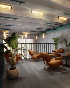 mở quán cafe theo phong cách tropical