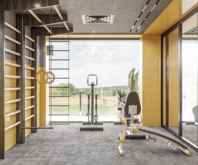 thiết kế phòng tập thể dục