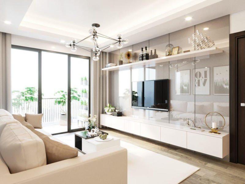ý tưởng thiết kế phòng khách hiện đại