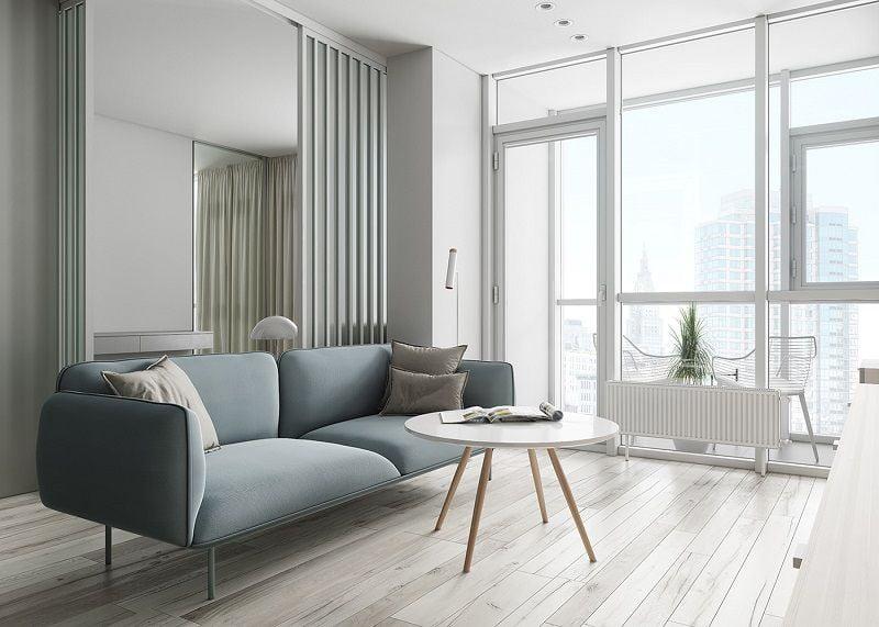 bộ bàn ghế phòng khách tối giản