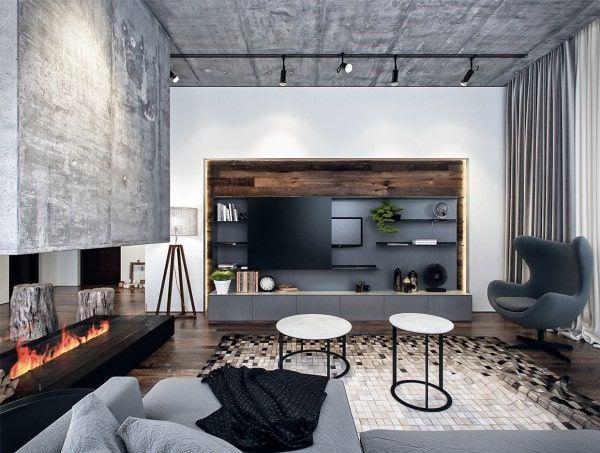 mẫu đèn trần trang trí phòng khách chung cư