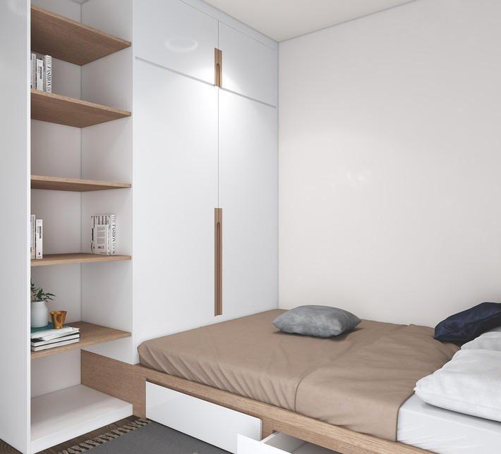 phòng ngủ có giường
