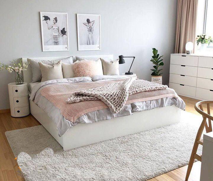 Phòng ngủ phong cách bắc âu