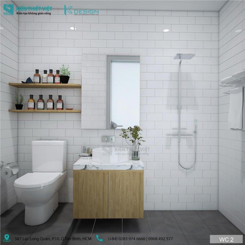 thiết kế nhà wc căn hộ 552