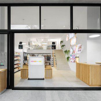 cửa hàng nông sản và mỹ phẩm hữu cơ