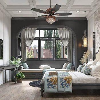 mẫu phòng ngủ đẹp cho vợ chồng