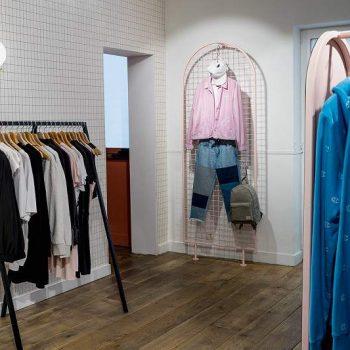 mẫu thiết kế cửa hàng thời trang nam và phụ kiện nam