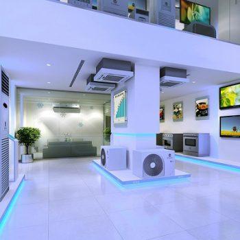 mẫu thiết kế showroom điện gia dụng