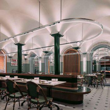 thiết kế nội thất nhà hàng chọn món