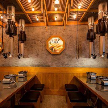 thiết kế nội thất nhà hàng đồ nướng