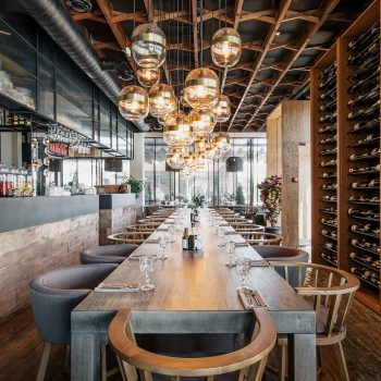 thiết kế nội thất nhà hàng âu