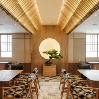 thiết kế nội thất nhà hàng nhật bản