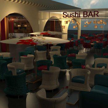 thiết kế nội thất nhà hàng trung quốc