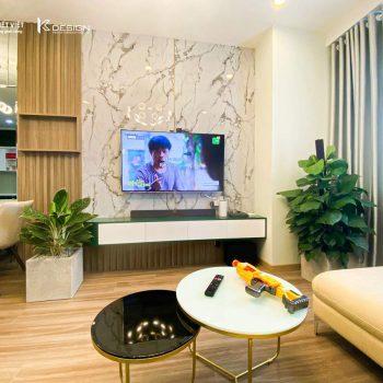phòng khách căn hộ topaz elite quận 8