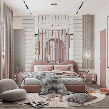 phòng ngủ đẹp hiện đại cho nữ