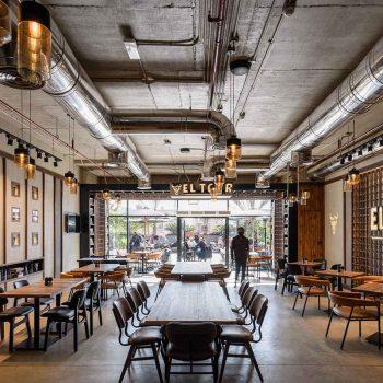 quán cafe theo phong cách industrial
