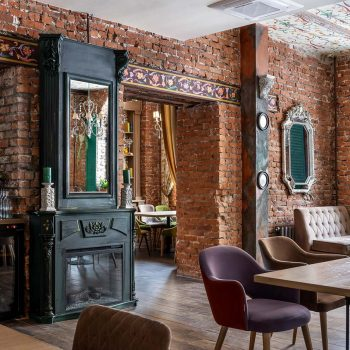 quán cafe theo phong cách vintage