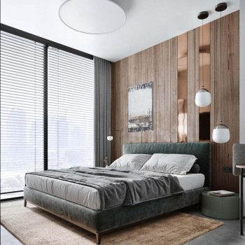 thiết kế nội thất chung cư 3 phòng ngủ phong cách bắc âu