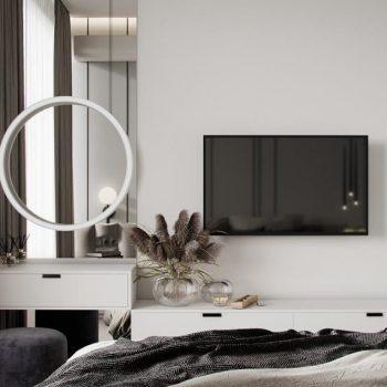 thiết kế nội thất chung cư 3 phòng ngủ hiện đại
