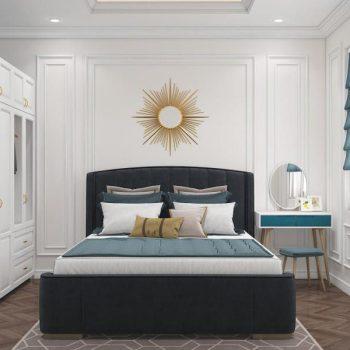 thiết kế nội thất chung cư 3 phòng ngủ tân cổ điển