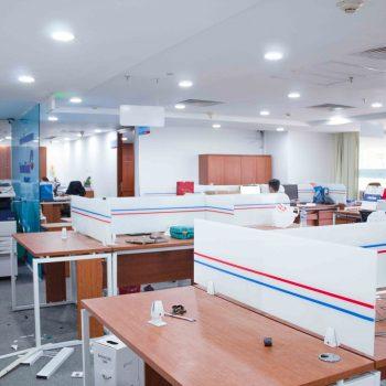 thiết kế nội thất văn phòng viettinbank