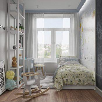 Thiết kế phòng ngủ cho bé trai